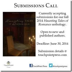 Haunting Romance anthology 2014 promo image
